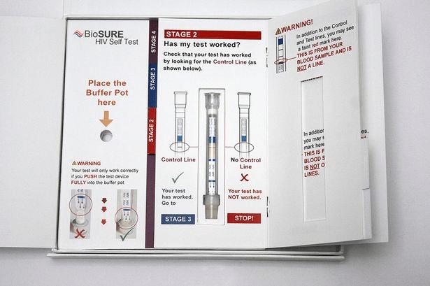 HIV Test probe user guide